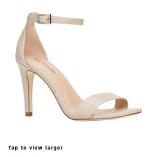 Call it Spring strappy heel Ahlberg in Bone size 10
