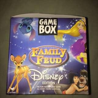 Game box family feud Disney edution
