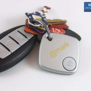 SILVER ANTI-LOST BLUETOOTH KEY FINDER, ALSO USED FOR WALLETS, PURSE, etc.