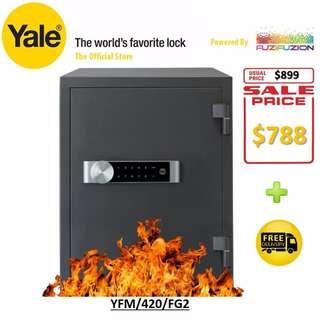 Yale 36kg Document Fire Safe Large YFM/420/FG2