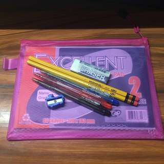 Grade School Back To School Packs