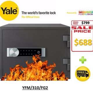 Yale Electronic Home Document FIRE Safe Box (Medium) - YFM/310/FG2