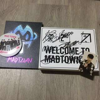 MADTOWN Signed Albums