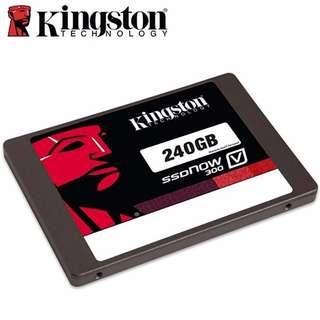 【易GO 3C】Kingston 金士頓 V300系列 SSD 240G 2.5吋 SATA3 固態硬碟