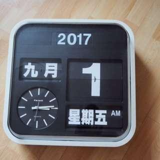 Fartech Wall Flip Clock