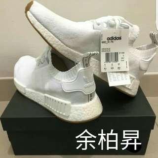 Adidas Nmd R1 Pk 全白 焦糖底