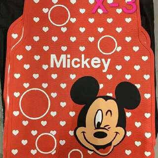 Mickey Mouse Car Mat