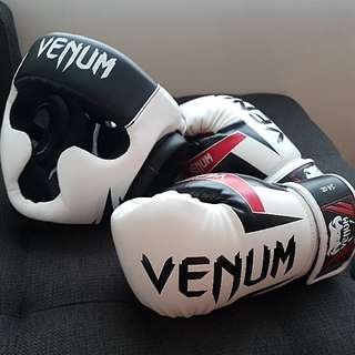 Boxing Headgear and Gloves