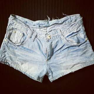 Tatterred Shorts