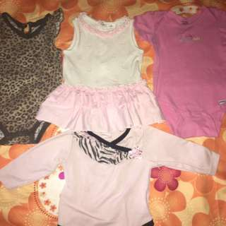 Take All !!! Onsies OOTD 3-6 Months for baby girl!