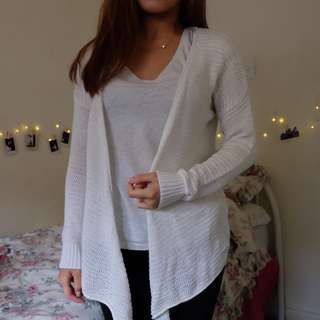 Knitted Coat(white)