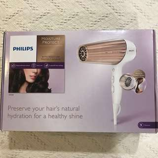 90% new Philips hair dryer with free gift of Korea facial mask