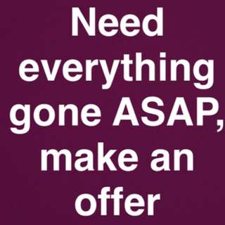 Need gone
