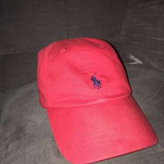 Polo Dad Hat (Red)
