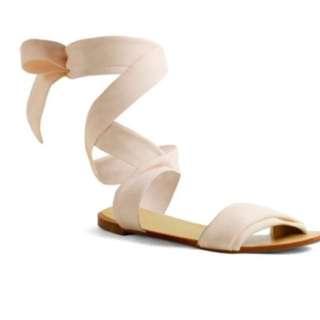 Novo nude sandals