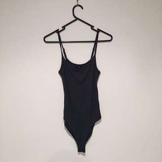 Grey/navy Bodysuit Size S