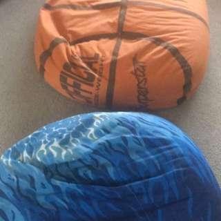 2 x beanbags