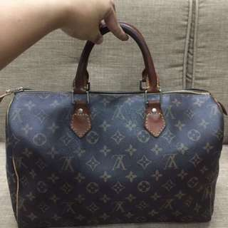 Louis Vuitton Speedy 35 with code