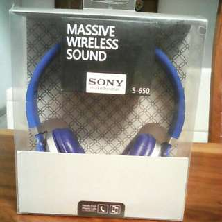 Headphone Bluetooth Sony