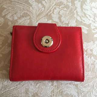 👛 Red Wallet/Purse