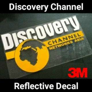 Discovery Reflective Decal