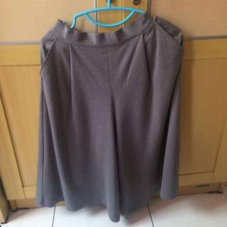 Dark grey culotte / kulot