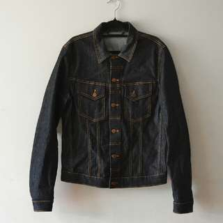 Nudie Jeans Dry Denim Jacket - FREE AUS WIDE POSTAGE