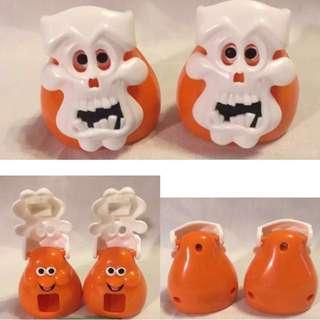 1998年 麥當勞 玩具 雞塊寶寶 萬聖節 絕版老物