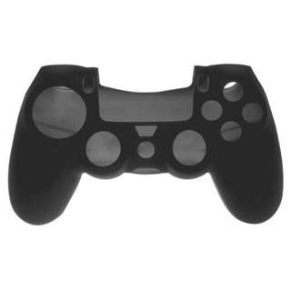 Silicone Cover for PS4 DualShock 4 DS4 Controller (Black)
