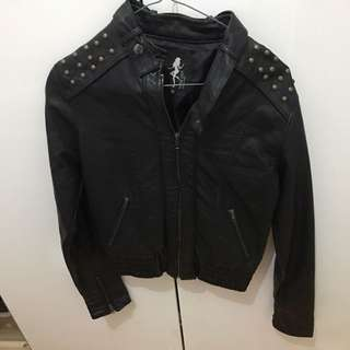 Nude Lucy Leather Jacket