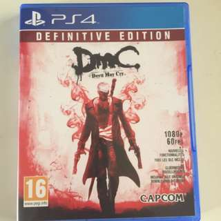 PS4 Devil May Cry Definitive Edition