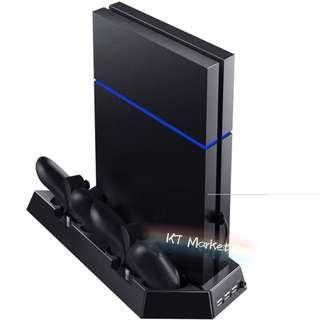 多功能(厚機)PS4直立架