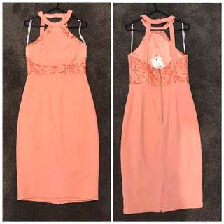 Ladakh Peach Dress