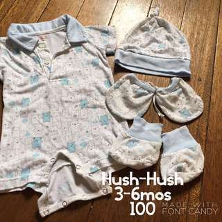 Hush-Hush Newborn Set