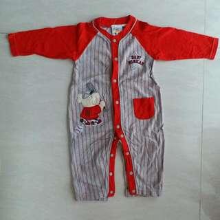 (包郵)minicar長袖夾衣(6-12m)