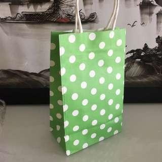 Pokka dot paper bag
