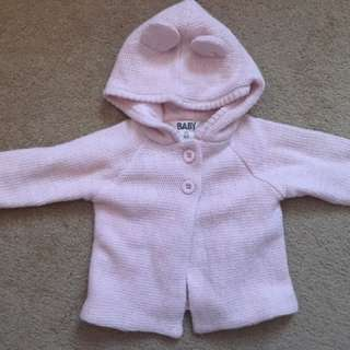 0-3(fit 6M as well) Cotton on coat BNWT