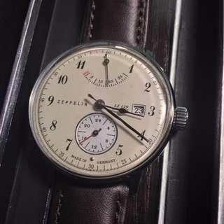 ZEPPELIN 70604 LZ129 Hindenburg automatic winding watch watch 手動上鏈錶