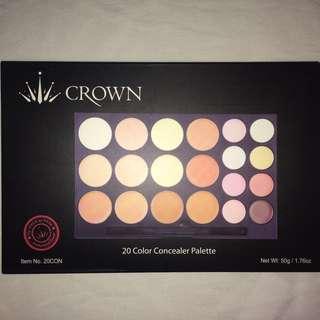 ✖️CROWN 20 Colour Concealer Palette