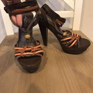 Funky hippie heels