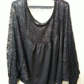 Korean Inspired Lacey Top