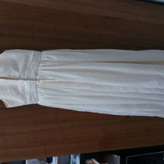 白色伴娘裙
