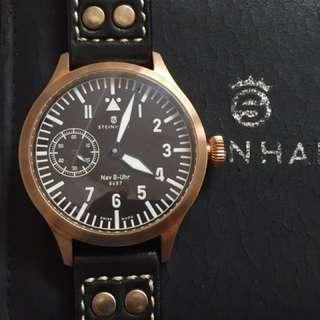 ( REPRICED ) Steinhart 47 mm Nav-B Uhr,  Bronze