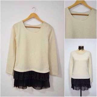 Korean Pullover Top
