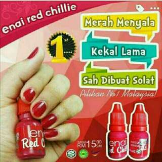 Enai Red Chilli Kutek Halal