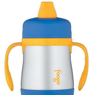 FOOGO 7oz stainless steel sippy cup with handle