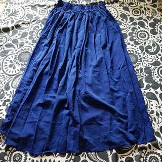 3 For $15 FREE Mail! Electric Blue Long Skirt Fits XS-M