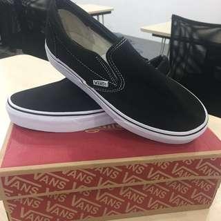 Vans Slip On Black&White Size 40(7,5) TURUN HARGA