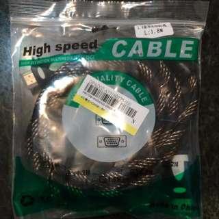 🚚 高速1.4版雙色HDMI線 1.8米