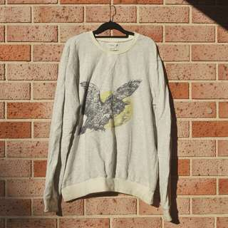 Vanishing Elephant Owl Sweater - FREE POSTAGE AUS WIDE